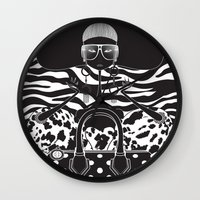 marc Wall Clocks featuring Marc Jacobs Close by Leandro Dario