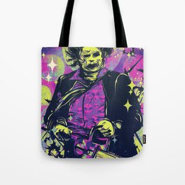 Neon Horror: Leatherface Tote Bag