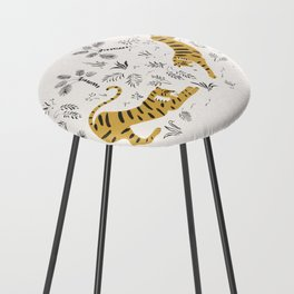 Tiger Dive Counter Stool