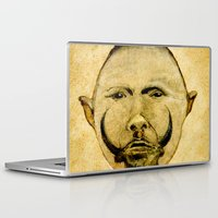 tribal Laptop & iPad Skins featuring tribal  by Joe Ganech