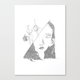 Shes Crazy and She Doesn't Care Canvas Print