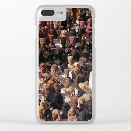 Egyptian Souvenirs Clear iPhone Case