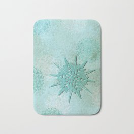 diamond dust Bath Mat