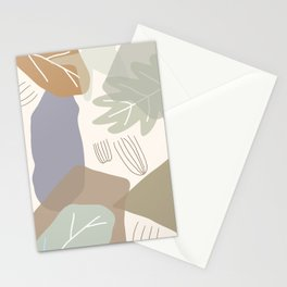 Semicircle patterned doodle background vector.No.17 Stationery Cards