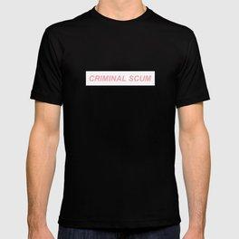 Criminal Scum Box Logo T-shirt
