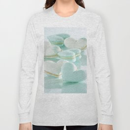 PALE HEARTS-SWEET MACARON Long Sleeve T-shirt
