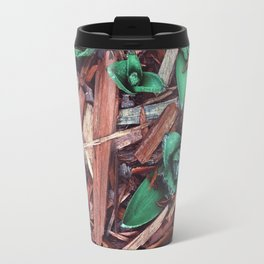 Flowers in the cold spring Travel Mug