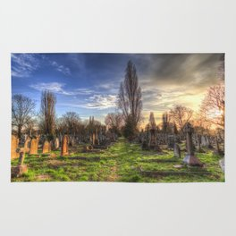 Kensal Green Cemetery London Rug
