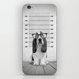 Guilty Puppy iPhone Skin