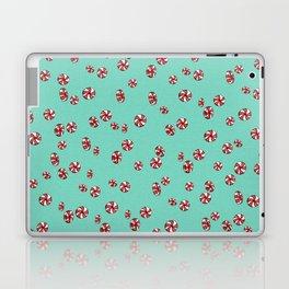Peppermint Candy in Aqua Laptop & iPad Skin