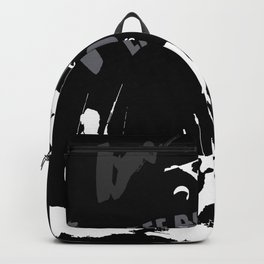 Life Begins At 20 Knots For Kitesurfers (White) Backpack