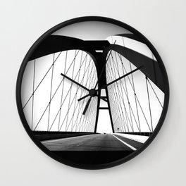 FEHMARNSUNDBRüCKE Wall Clock