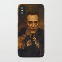 christopher walken iPhone & iPod Cases featuring Christopher Walken - replaceface by replaceface