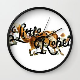 Little Rebel Wall Clock