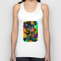 kandinsky Tank Tops featuring Child's Play by Klara Acel
