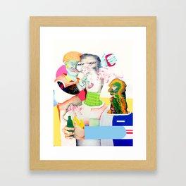 LC 3 Framed Art Print