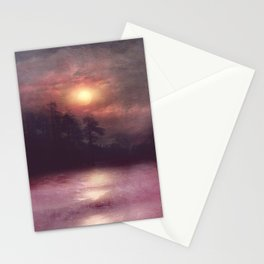 Hope in the pink water Stationery Cards