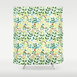 All you need is fLOVErs Shower Curtain