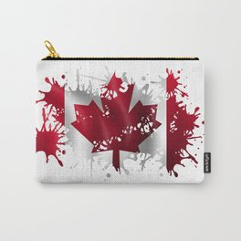 Canadian Splatter Carry-All Pouch
