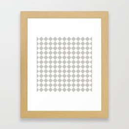 Sexy Checkers Framed Art Print