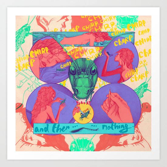 And Then Nothing. Art Print