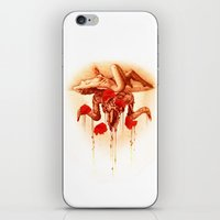 baphomet iPhone & iPod Skins featuring baphomet by Maria Catherine
