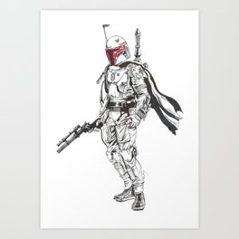 Is that a Thermal detonator in your pocket or are you just pleased to see me? Art Print