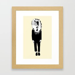 Self Portrait. Framed Art Print