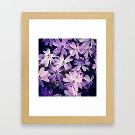 Color me purple Framed Art Print