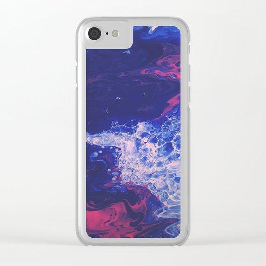 Breathe Deep Clear iPhone Case