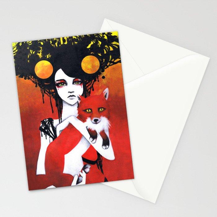 Fauna Goddess of Animals Stationery Cards