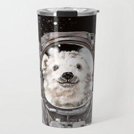 Astronaut Polar Bear Selfie Travel Mug