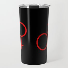 symbol of couple 1 Travel Mug
