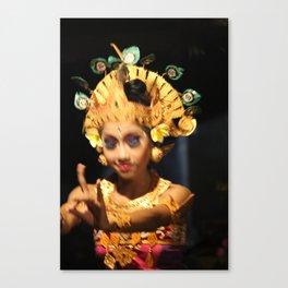 Bali Dance #4 Canvas Print