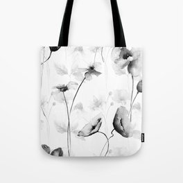 Seamless pattern with Decorative summer flowers Tote Bag