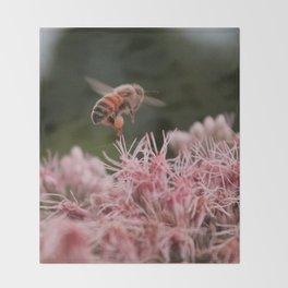 The Worker Bee Throw Blanket