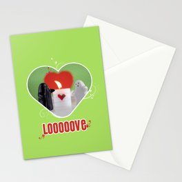 Be my Valentine Ghost Stationery Cards