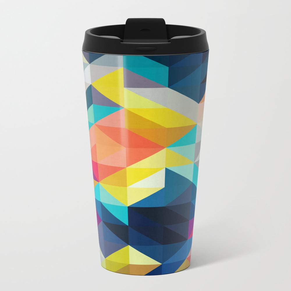 Vibrant Composition Iv Travel Mug TRM8464129
