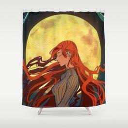 Moon Princess Shower Curtain