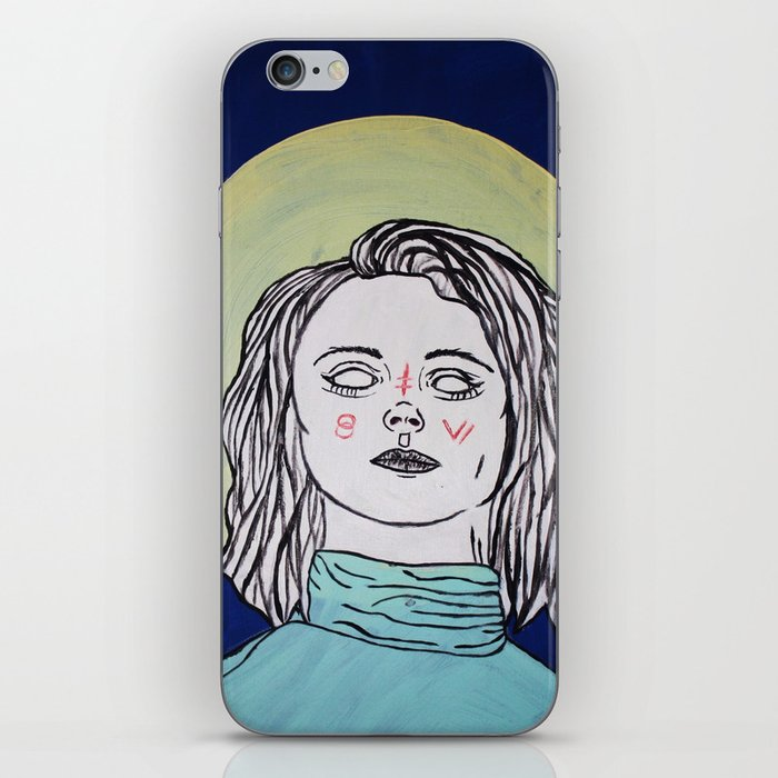 Turtleneck & Moon iPhone Skin