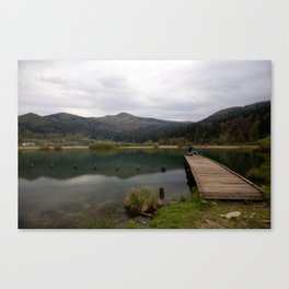 Nice spot for fishing Canvas Print