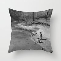 boys Throw Pillows featuring Boys Will Be Boys by livigrace16
