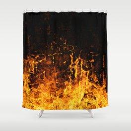 Hot Stuff / Let it burn Shower Curtain