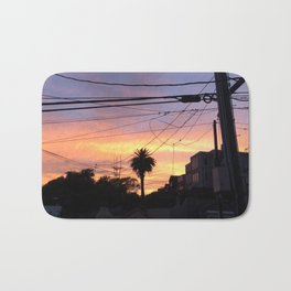 Sunset Lines Bath Mat