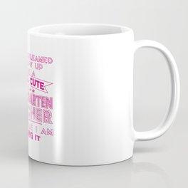A SUPER CUTE KINDERGARTEN TEACHER Coffee Mug