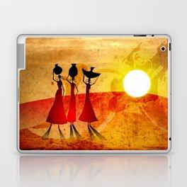 Africa retro vintage style design illustration Laptop & iPad Skin