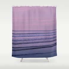 Waiting for the Night Shower Curtain