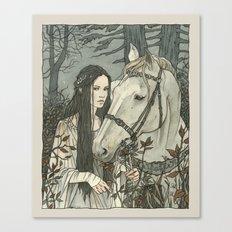 enmeshed in Nan Elmoth Canvas Print