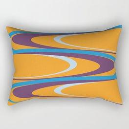 Carnival Rings Rectangular Pillow