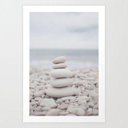 Zen sea Art Print